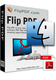 PDF in Flash Flip Book Converter per Mac